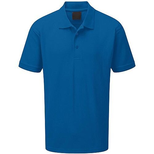 5 Star Facilities Premium Polo Triple Stitched Size Large Royal Blue