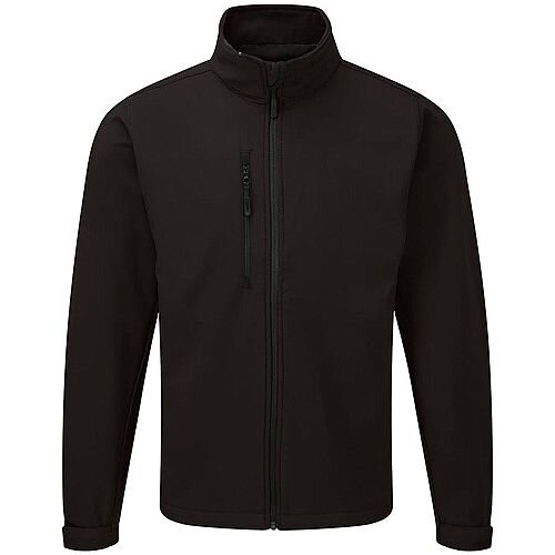 5 Star Facilities Jacket Soft Shell Water Resistant Breathable 320gsm Size Large Black