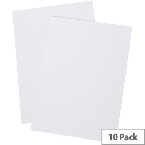 5 Star Office A4 Memo Pad Plain 80 Pages White