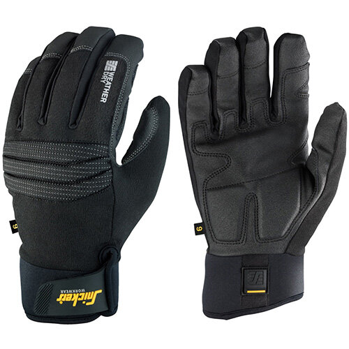 Snickers 9579 Weather Dry Gloves Size 9