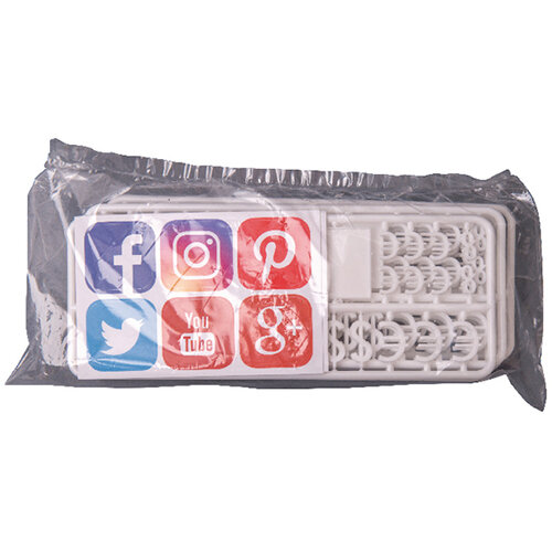 Announce Peg Characters Social Media and Currency Set of 216 PEG-SMC/6/CW