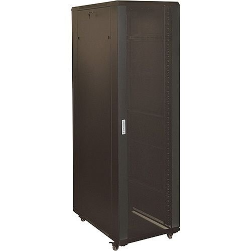 42u Black 800mm Wide x 800mm Deep Data Cabinet