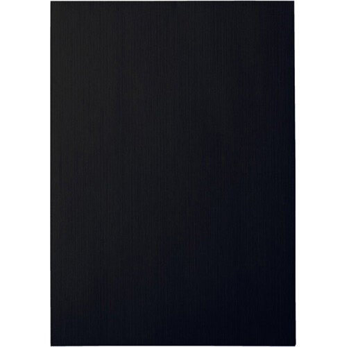 Leitz Binding Covers 240g Linen Optic Black Pack of 100