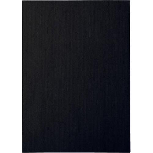 Leitz Binding Covers 240g Linen Optic Black Pack of 100