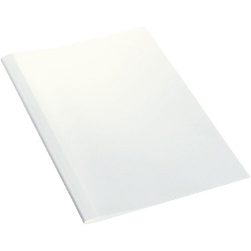 Leitz Thermal Binding Covers Standard 6mm White Pack of 100