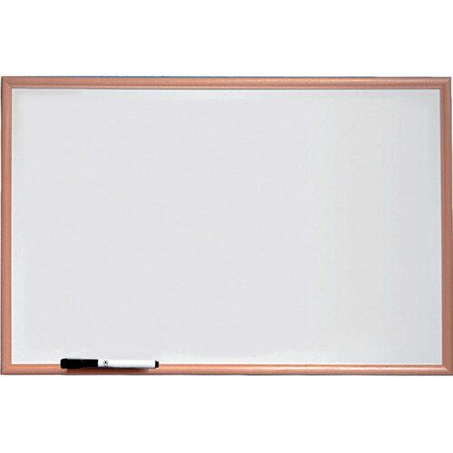 Nobo Basic Melamine Pine Trim Whiteboard 600x401mm