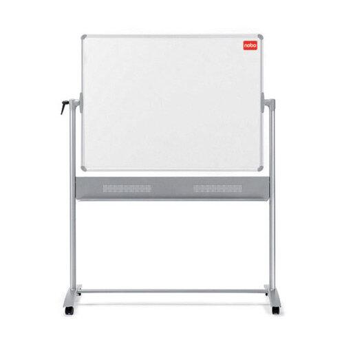 Nobo Basic Melamine Mobile Whiteboard 1200x900mm