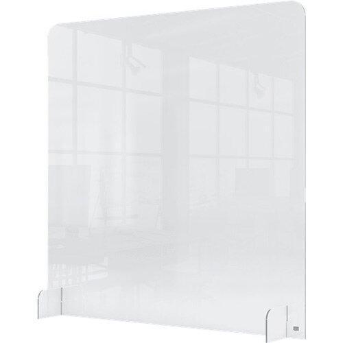 Nobo Clear Acrylic Protective Counter Partition Screen 700x850mm