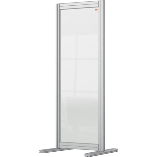Nobo Premium Plus Clear Acrylic Protective Desk Divider Screen Modular System 400x1000mm