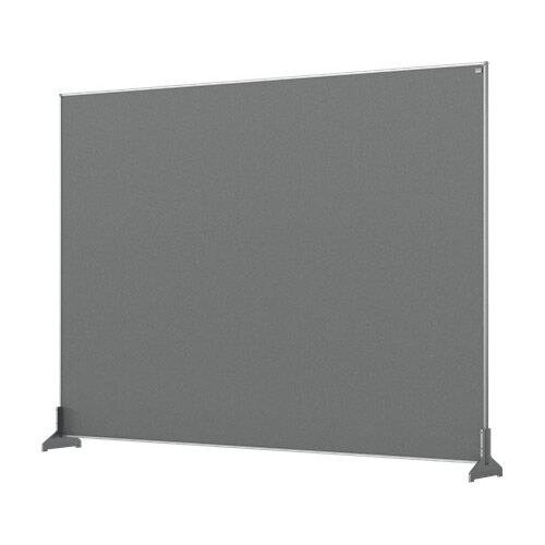 Nobo Impression Pro Desk Divider Screen Felt Surface 1400x1000mm Grey