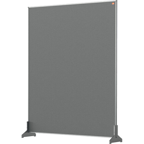 Nobo Impression Pro Desk Divider Screen Felt Surface 800x1000mm Grey