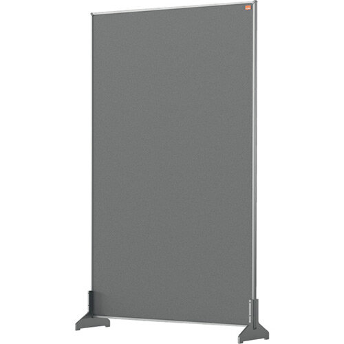 Nobo Impression Pro Desk Divider Screen Felt Surface 600x1000mm Grey