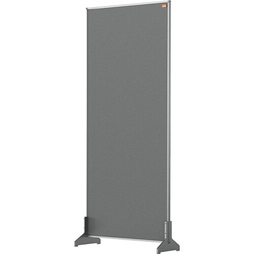 Nobo Impression Pro Desk Divider Screen Felt Surface 400x1000mm Grey
