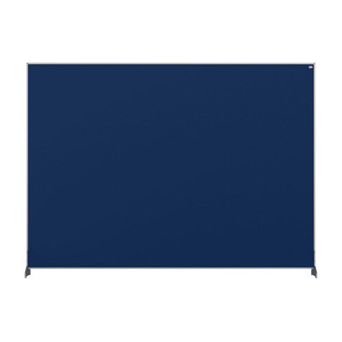 Nobo Impression Pro Desk Divider Screen Felt Surface 1400x1000mm Blue