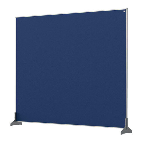 Nobo Impression Pro Desk Divider Screen Felt Surface 1200x1000mm Blue