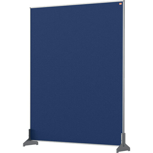 Nobo Impression Pro Desk Divider Screen Felt Surface 800x1000mm Blue