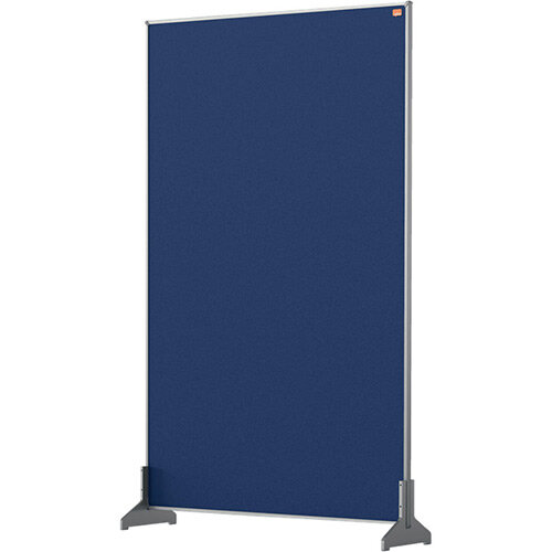 Nobo Impression Pro Desk Divider Screen Felt Surface 600x1000mm Blue
