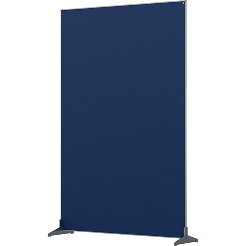 Nobo Impression Pro Free Standing Room Divider Screen Felt Surface 1200x1800mm Blue
