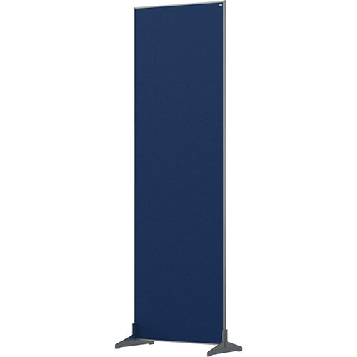 Nobo Impression Pro Free Standing Room Divider Screen Felt Surface 600x1800mm Blue