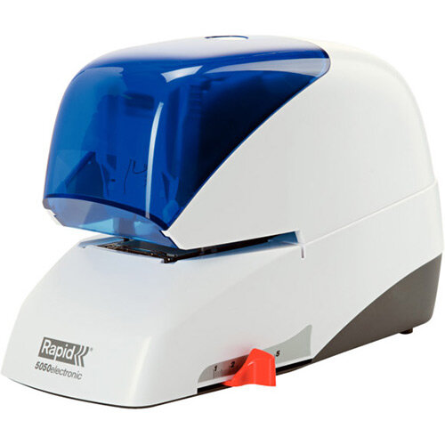 Rapid Supreme Electric Stapler R5050e Blue