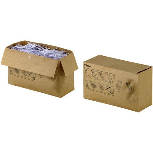 Rexel Recyclable Shredder Waste Sacks 32 Litre Capacity (50)