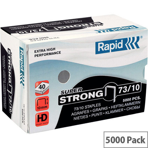 Rapid SuperStrong Staples 73/10mm 5M G