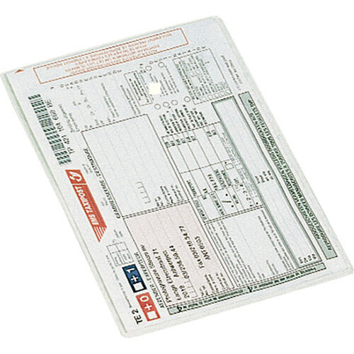 Esselte Card Holders A5 PP 105my Clear Pack of 100