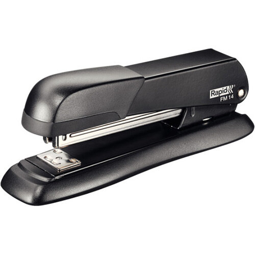 Rapid Desktop Metal Fullstrip Stapler FM14 Black