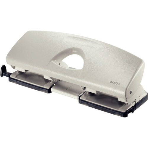 Leitz 4-Hole Punch 1.6mm Grey