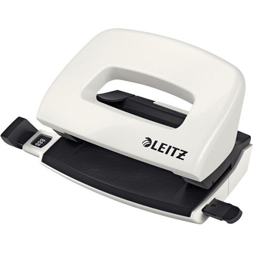 Leitz New NeXXt WOW Mini Hole Punch Pearl White