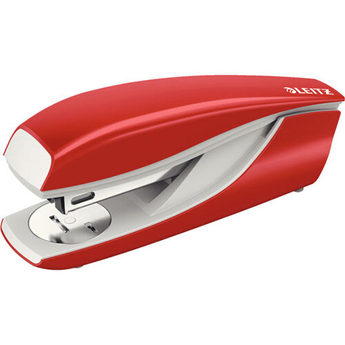 Leitz New NeXXt Metal Office Stapler 3mm Red