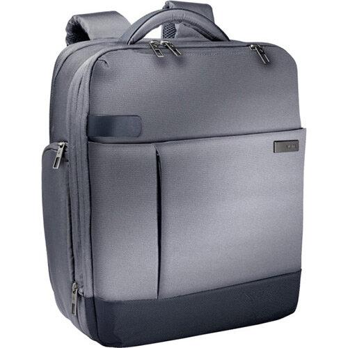Leitz Complete 15.6in Laptop Backpack Smart Traveller Silver