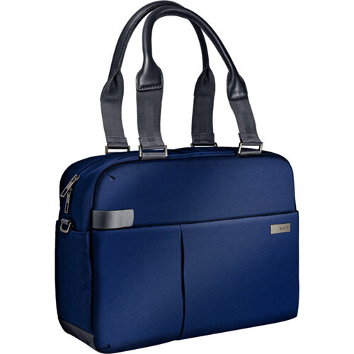 Leitz Complete 13.3in Laptop Shopper Bag Smart Traveller Titan Blue