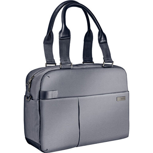 Leitz Complete 13.3in Laptop Shopper Bag Smart Traveller Silver