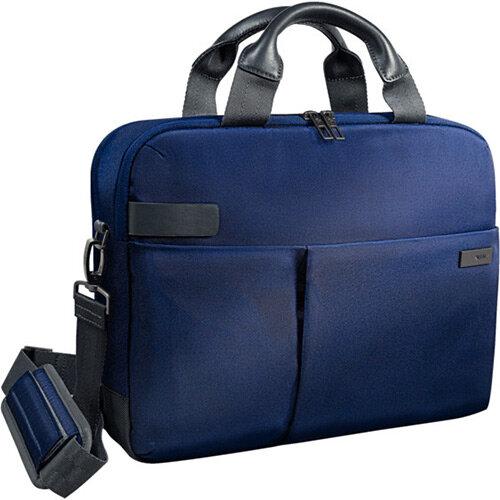 Leitz Complete 13.3in Laptop Bag Smart Traveller Titan Blue