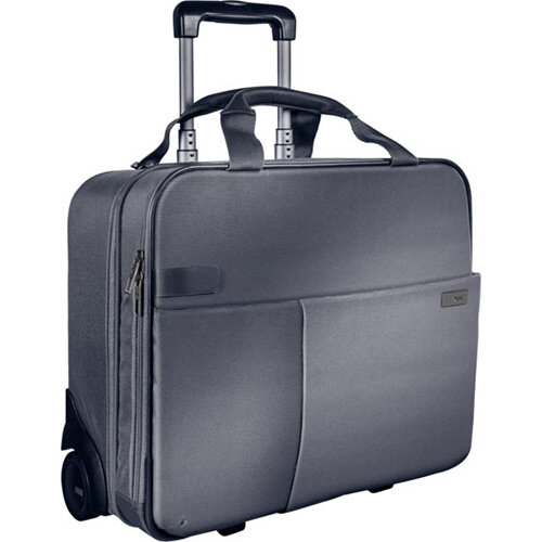 Leitz Complete Carry-On Trolley Smart Traveller Silver