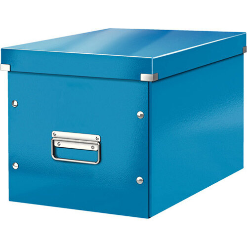 Leitz Box Click &Store Cube Large Storage Box Blue