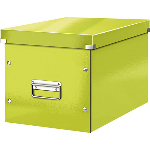 Leitz Box Click &Store Cube Large Storage Box Green