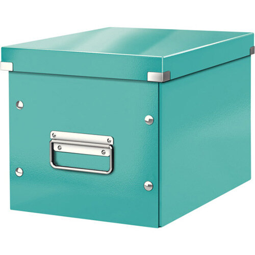 Leitz Box Click &Store Cube Medium Storage Box Ice Blue