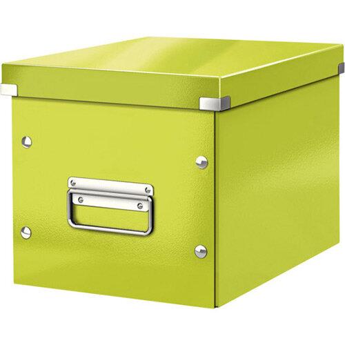 Leitz Box Click &Store Cube Medium Storage Box Green