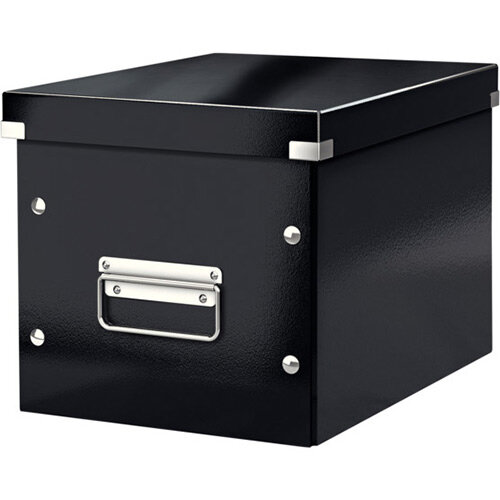 Leitz Box Click &Store Cube Medium Storage Box Black