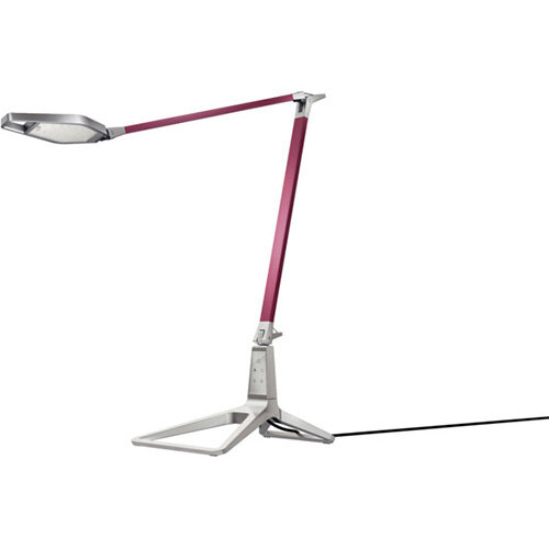 Leitz Style Smart LED Desk Lamp Garnet Red