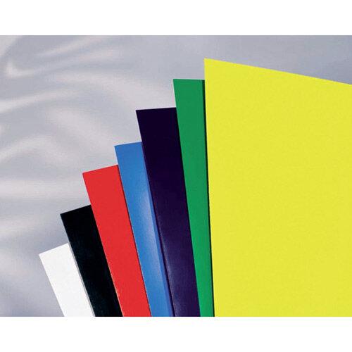 GBC HiGloss CR121870 High Gloss Covers A4 Black Pack of 50