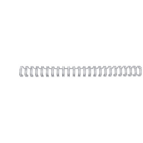 GBC WireBind Binding Wires 3:1 Wire No8 A5 Silver Pack of 250