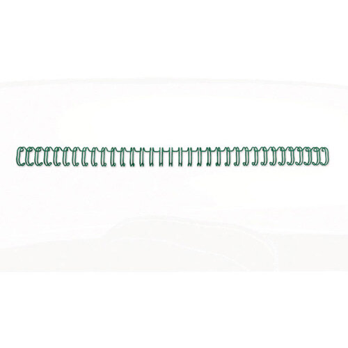 GBC WireBind Binding Wires 2:1 Wire 16mm A4 Green Pack of 200