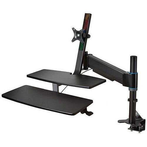 Kensington SmartFit Sit/Stand Workstation. Transform Any Fixed Desk Into A Sit/Stand Workstation. Ideal For Home Or Office Use. Improves Posture &Brain Activity, &Can Prevent Muscle Problems, Back Problems, Cardiovascular Issues &Heart Disease.