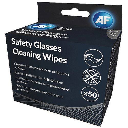 AF Safety Glasses Cleaning Wipes SGCS050