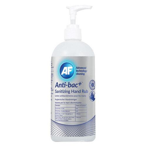 Anti-Bac Sanitising Hand Rub Pack of 6 ABHHR500 6