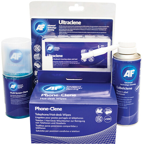 AF Phone Clene, Multi-Screen Clene and Ultraclene Bundle FOC Label Clene AFI838858