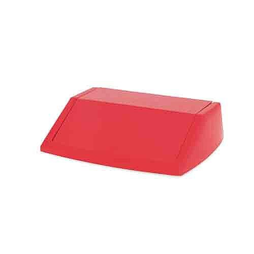 Addis 60 Litre Fliptop Bin Lid Red 512568